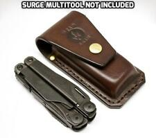 Leatherman multitool brown leather sheath for SURGE 300 handmade by Deadskin AU