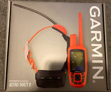 New Garmin Astro 900 Bundle T9 Collar GPS Dog Tracking System  010-02053-00