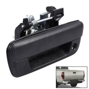 Tailgate Handle Textured with Key Hole 25801998 for Chevy Colorado 04-12 Black