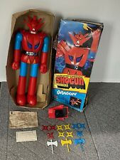 "Vintage Shogun Warriors DRAGUN 24"" Action Figure w/ Weapons Complete"