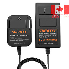 18V Li-ion Slide-in Style Battery Charger Compatible with Makita 18V Battery ...