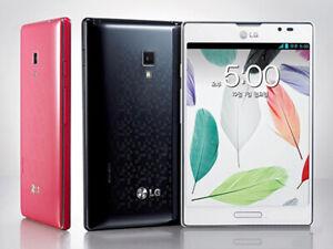 "Original LG Optimus Vu II F200 Mobile Phone Android GPS WIFI 5"" 8MP 3G Unlocked"