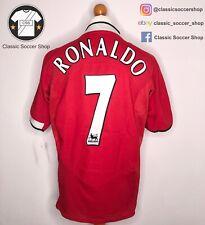 Manchester United RONALDO #7 2005/06 Home Shirt Large / L