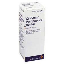 XYLOCAIN PUMPSPRAY DENTAL 50 ml PZN: 3839499 (27,78€/100 ml)