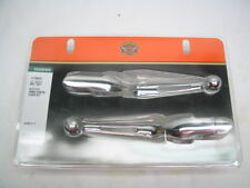 Harley Chrome Slotted Hand Control Lever Kit 41700425 '17-later Touring Models