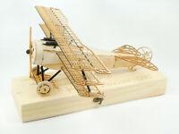 FOKKER DR1 TRIPLANE 1/18 SCALE STATIC BALSA MODEL BUILDING KIT 3D PUZZLE