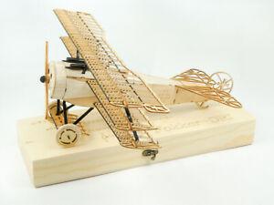 VX11 - Fokker DR1 Triplane 1/18 Scale Static Balsa Model Building Kit 3D Puzzle