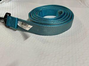 Top Paw Blue Gun Metal dog leash 4 ft.