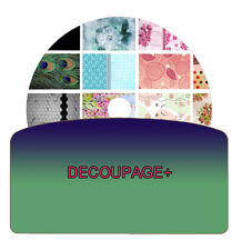 Decoupage Images on DVD Disc Art Crafts Home Hobbies