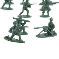 EG_ 100 pièces/Paquet Militaire Plastique soldats Armée Figurines D'Action