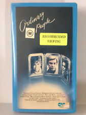 ORDINARY PEOPLE ~ MARY TYLER MOORE, DONALD SUTHERLAND,TIMOTHY HUTTON ~ VHS VIDEO