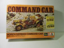 Horch German Command Car With Figures 1:35 Scale Model Kit H-2109 From Revell