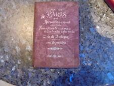 beau petit livre ancien  plan de paris