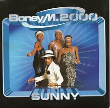 "BONEY M 2000 ""SUNNY"" RARE CD SINGLE / FRANK FARIAN - NEW!"