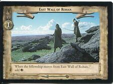 Lord Of The Rings CCG Card TTT 4.U323 East Wall Of Rohan