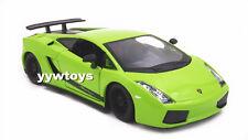 1:24 Bburago Lamborghini Gallardo Superleggera Diecast Model Car Vehicle New