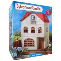 Brand New SYLVANIAN FAMILIES Cedar Terrace ~ Doll's House