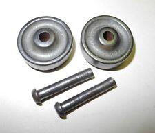 "New ListingVintage Singer Treadle Sewing Machine 2 Pc. 3/8"" Wide Cast Wheel Set, Axle/Pins"