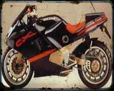 GILERA Cx125 91 1 A4 Metal Sign moto antigua añejada De