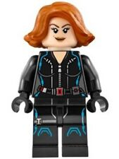 LEGO - Super Heroes: The Avengers - Black Widow, Short Hair - Mini Figure