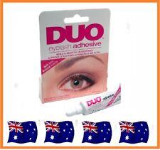 DUO Waterproof Eyelash Glue, False Eyelash Adhesive, Dark Black 9g False Lash