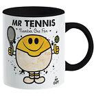 Tennis Mug - Sports Gift Racquet Serve Fan Present Gift for dad him Man