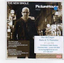 (FE74) Picturehouse, Hello - 2014 DJ CD