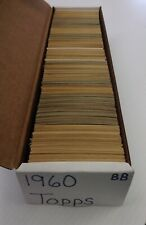 1960 Topps Baseball Lot Pick 10 Cards Finish Your Set EXCELLENT !SHARP!