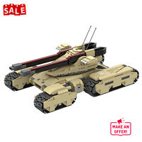 Heavy Assault Tank GDI Mammoth MK-3 Mk. III Building Blocks Toys Sets MOC-22742