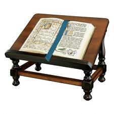 18th Century Antique Louis XIII Replica Fixed Position Hardwood Book Easel Stand