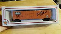 HO SCALE TRAIN Car IN BOX VINTAGE BACHMANN SHIP IT ON THE FRISCO ORANGE BLACK fr