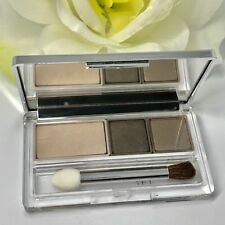 Clinique Colour Surge Eye Shadow Trio 04 TOTALLY NEUTRAL ~ RARE! Unboxed, NEW