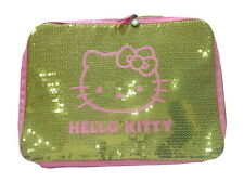50 x Hello Kitty Sequinned Covered padded Netbook / Laptop Sleeve  WHOLESALE LOT