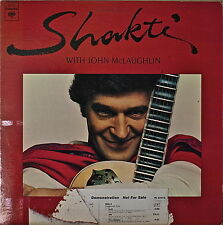 SHAKTI w/ JOHN McLAUGHLIN: A Handful of Beauty-NM1977LP WHT LBL ZAKIR HUSSAIN