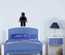 Lego Man cuarto del bebé Dormitorio para niños Salón Comedor Adhesivo Pared