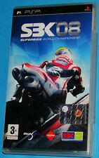 SBK 08 Superbike World Championship - Sony PSP - PAL