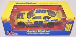 1998 Racing Champions 1:24 #98 Auto Value Ford Taurus PROMO