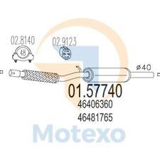 MTS 01.57740 Exhaust FIAT Cinquecento 1.1ie Sporting 54bhp 10/94 - 12/98