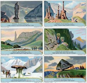 Chromo Liebig Sang. 1253 ITA Rocce Bizzarre ANNO 1931