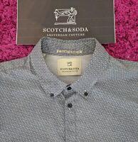 SCOTCH & SODA Men's SHIRT Size XXL - Beautiful Shirt GREAT CONDITION RRP £130