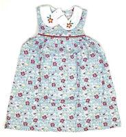 Little Bitty- Girls 2T Sleeveless Collared Floral Design Dress