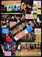 Fotobusta 90 Notti IN Giro für Die Welt Mino Loy Carmen Bajot Film R112