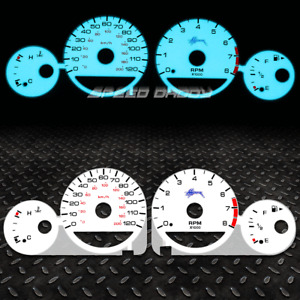 FOR 00-01 DODGE/PLYMOUTH NEON TACHOMETER INDIGLO GLOW GAUGE DASH FACE EL CLUSTER