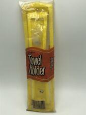 Scott Paper Towel Holder Yellow Plastic Vintage 1978 NOS