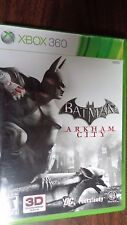 BATMAN: ARKHAM CITY (Xbox 360, 2011), Rated T, 1 Player, 3D Compatible, Inserts