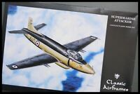 D.H. SUPERMARINE ATTACKER 1/48 SCALE CLASSIC AIRFRAME MODEL KIT