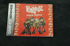 Bratz Rock Angelz (BOOKLET ONLY) GAMEBOY ADVANCE