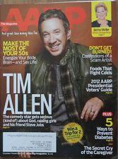 AARP Magazine Oct/Nov 2012 Tim Allen Scam Artists Prevent Diabetes Your 50's