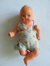 """Antique Composition Jointed Doll Made In Germany 3 1/4"""""""