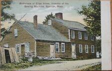 1909 PC-Sewing Machine/Elias Howe Home-Spencer, Mass MA